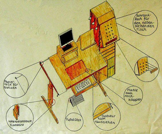 Optimale Arbeitsbedingungen für Schüler zu designen war Aufgabe in einer 9. Klasse des Gymnasiums Salzgitter-Bad.