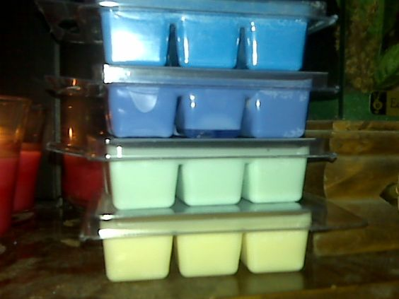 candle melts I have made