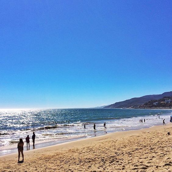 On the weekends, we like to take in #SoCal by hitting the beach. Urban escape is…