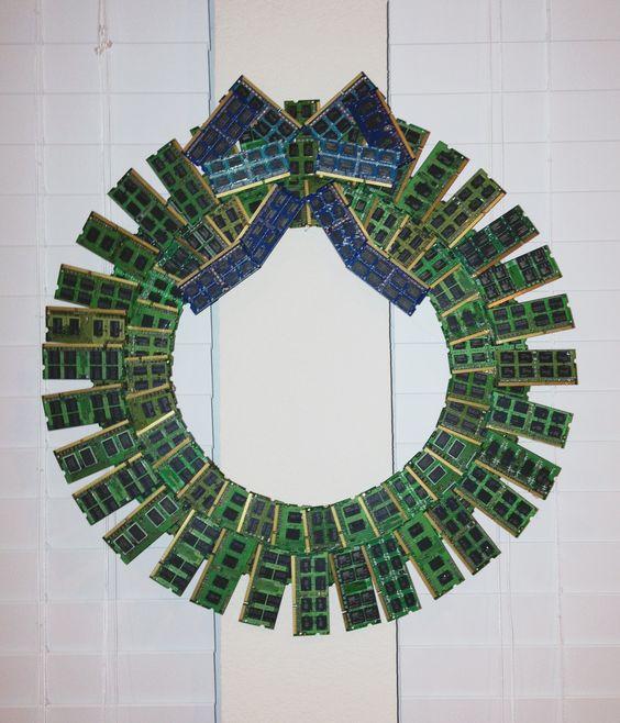 Pinterest Christmas Wreath Crafts