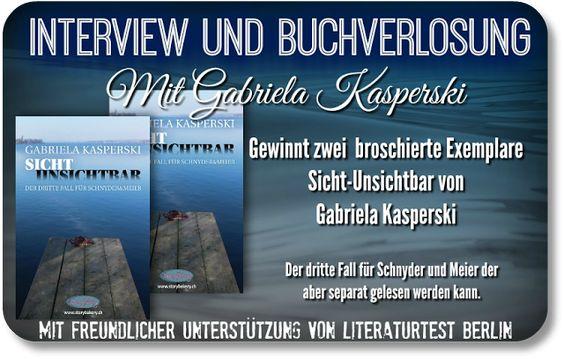 Leserattes Bücherwelt: [Interview und Buchverlosung] mit Gabriela Kaspers...