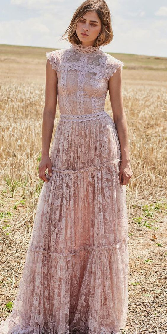 Bohemian Dress Wedding Guest Outfit