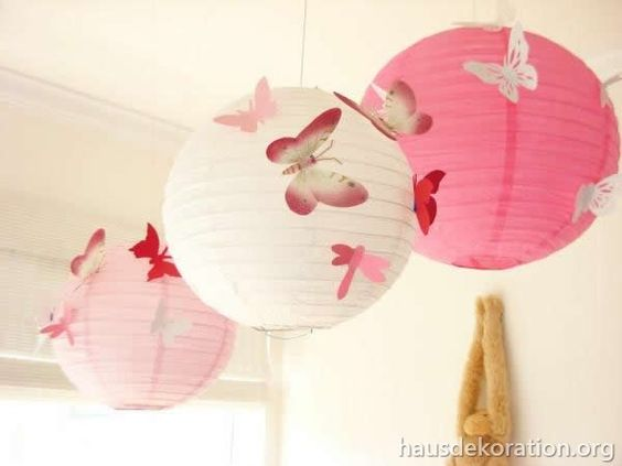 Deko and s on pinterest for Babyzimmer deko rosa