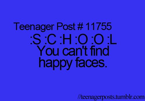 You can't find happy faces