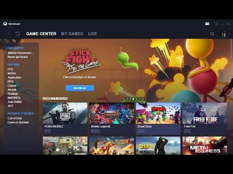Tencent Gaming Buddy وداعا للملل العب العب الموبايل من على جهاز الكمبي I Am Game Games Screenshots