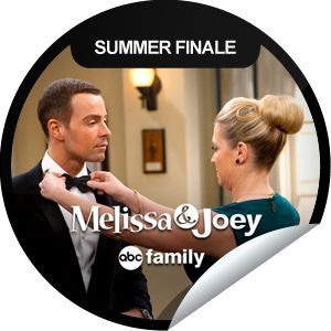 Melissa & Joey: Mel Marries Joe...Will Joe's wedding to Elena lead to a different marriage? Check-in with GetGlue.com for the summer finale of Melissa & Joey!
