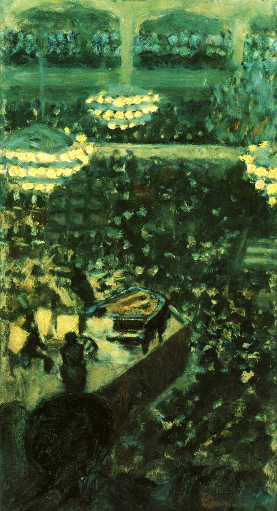 Pierre Bonnard 1895 - Au Concert: