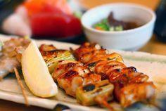 Yakitori | pinchos de pollo estilo japonés
