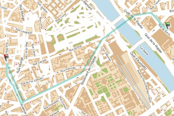 RATP, transports à Paris: real-time point-to-point route finder