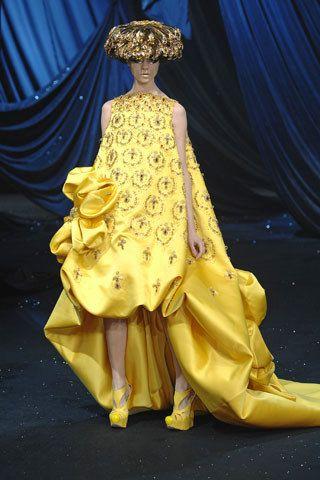 Christian Dior Spring 2008 Couture Fashion Show - Egle Tvirbutaite