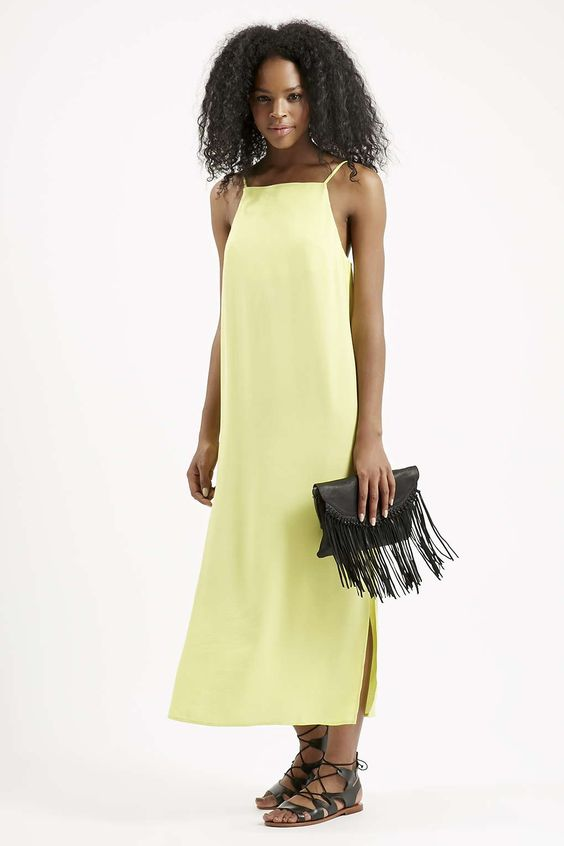 Photo 2 of Square Neck Midi Slip Dress