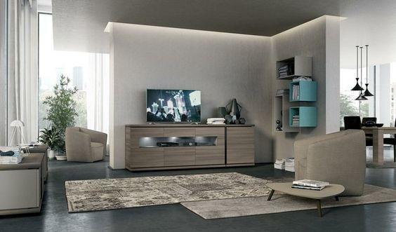 armoire de rangement pour un salon moderne