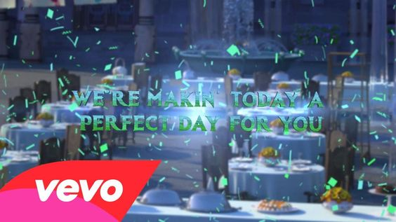 """Making Today A Perfect Day (From """"Frozen Fever"""") (Lyric Video)"""