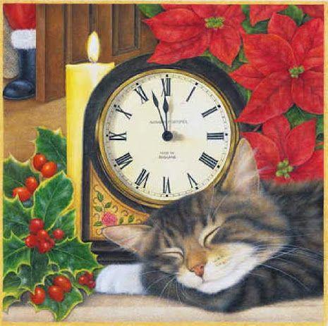 Els gats celebren el Nadal / Los gatos celebran la Navidad / Cats