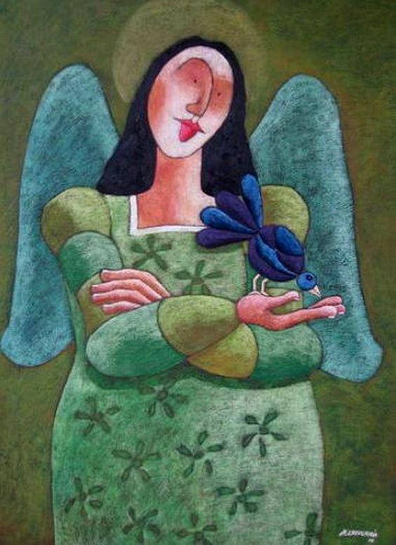 Jose Echeverria (b.1987) —   Angel (582x800):