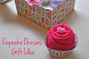 Cupcake criativo para chá de fralda – presente ideal