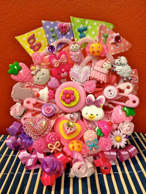 Magnetic New Mommy To Be Pink Baby Girl by HaileyHarrison on Etsy, $29.99
