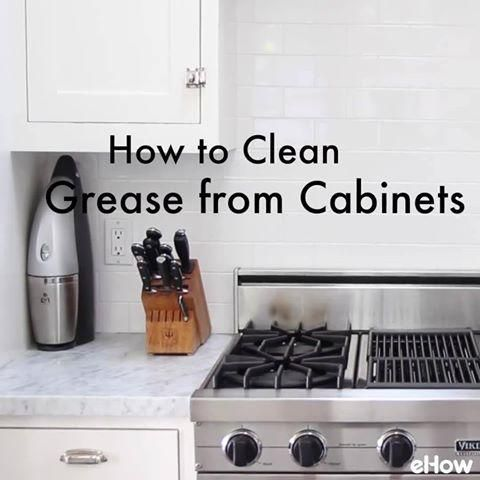 How To Clean Grease From Kitchen Cabinet Doors Homemade Cabinets