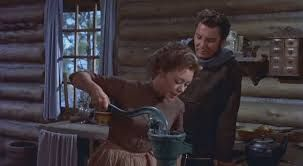 All Mine To Give (1957) Glynis Johns and Cameron Mitchell.