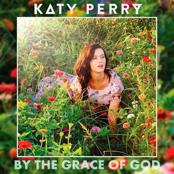 Katy Perry – By the Grace of God (single cover art)