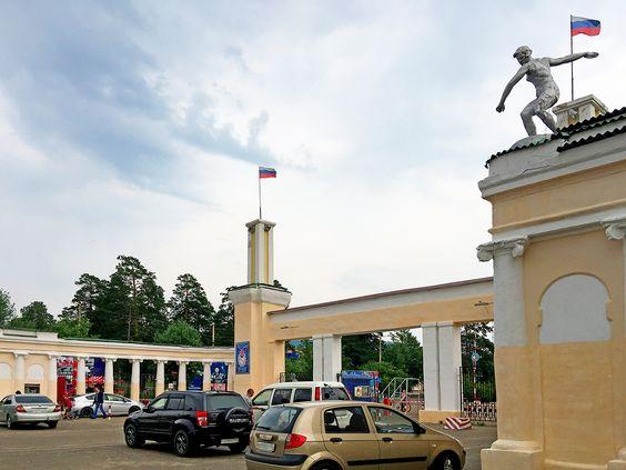 Cтадион Забайкальского военного округа, г. Чита. Фото Evgenia Shveda