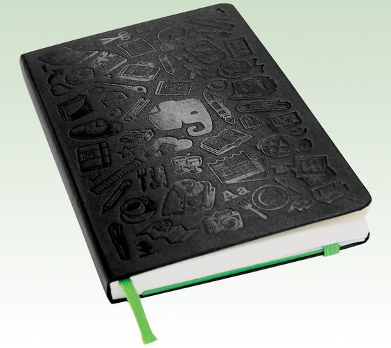 """Smart Accessories: Moleskine's New Evernote Smart Notebook $24.95    """"When you take a picture of a page with the camera, it automatically improves skew, clarity, and edge detection, and makes handwriting searchable."""" www.inc.com by Adam Baer"""