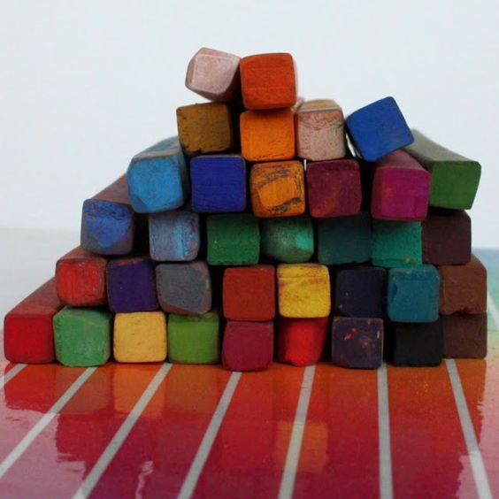 oil pastels :)