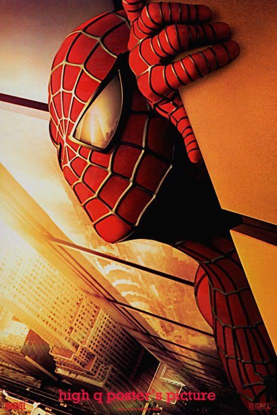 Discontinued world trade center #Spiderman movie poster ...