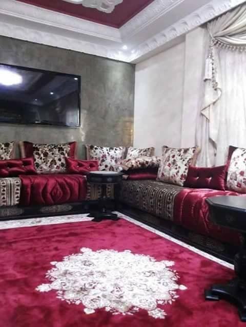 Salon Marocain Luxe 2020 2021 Moroccan Living Room Beige Living Rooms Modern Living Room