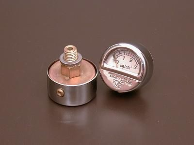 Pressure gauge for high-powered lamps