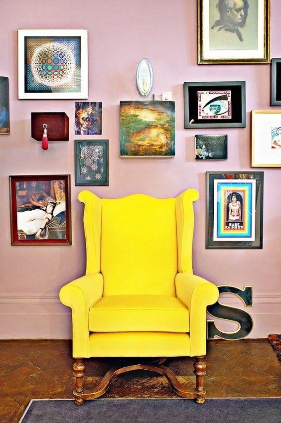 Inside+a+Jewelry+Designer's+Whimsical,+Bohemian+London+Home+via+@domainehome