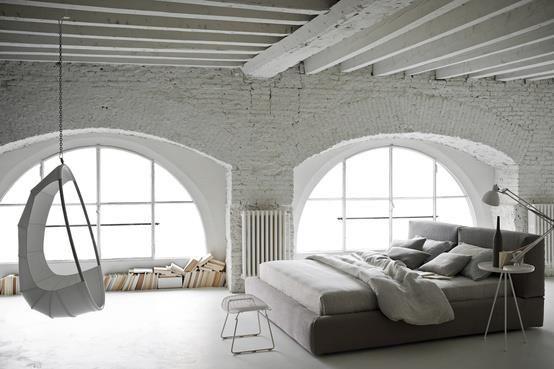 Love white bedrooms!