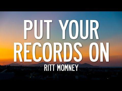 Ritt Momney Put Your Records On Tiktok Remix Lyrics Girl Put Your Records On Youtube Song Playlist Lyrics Songs
