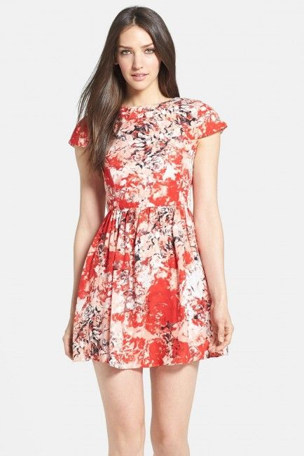 Parker 'Kinley' Fit & Flare Dress