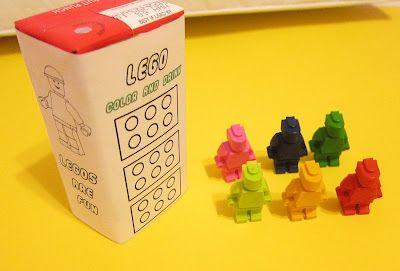 FREE Lego Juice Box Label