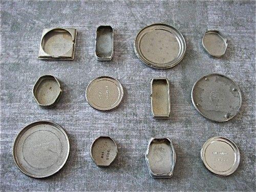 Found on ArtFire  Vintage Antique Watch parts cases backs- Steampunk - Scrapbooking f1