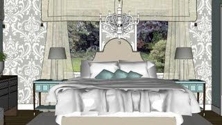 Room Tour #17 Makeover Mondays - Pretty bedroom decorating ideas - YouTube