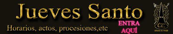 Cofrades de Viveiro: Actos, Procesiones y eventos para Jueves Santo en la Semana Santa de Viveiro...