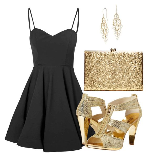 """""""Untitled #9"""" by briar-circle ❤ liked on Polyvore featuring Glamorous, MICHAEL Michael Kors and Blue Nile"""