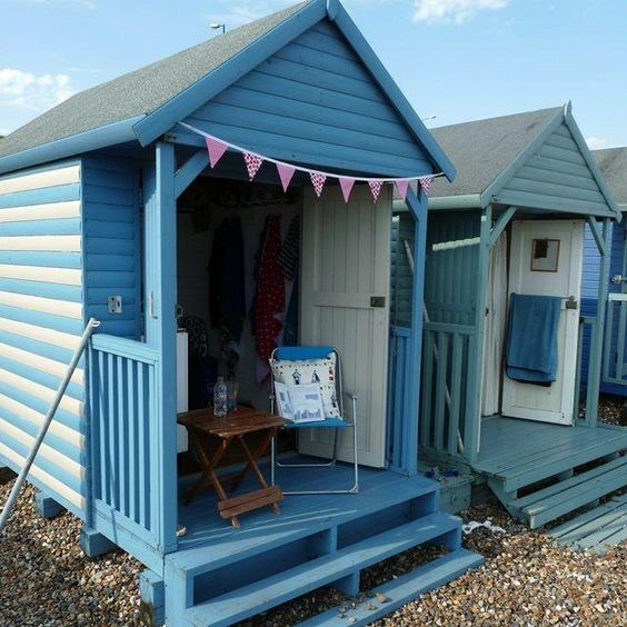 cute beach hut - Google Search: