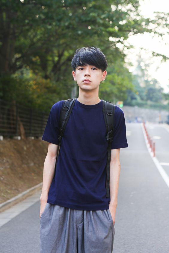 モデルの成田凌