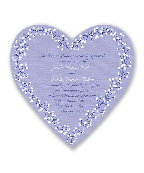 Hearts in Harmony Wedding Invitation by David's Bridal