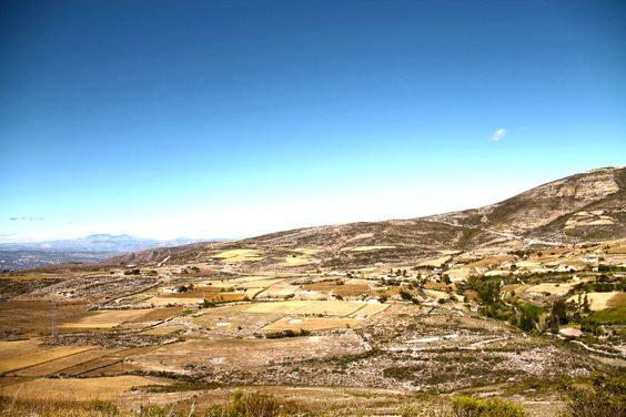 Foto panorámica del caserío.