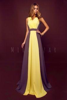 Шикарные красивые желтое и розовое платья в пол