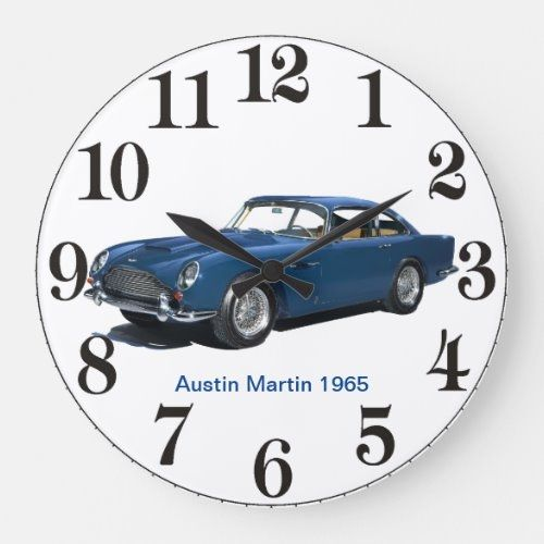 Austin Martin 1965 For Acrylic Wall Clock Zazzle Com In 2020 Austin Martin Fathers Day Crafts Father Presents