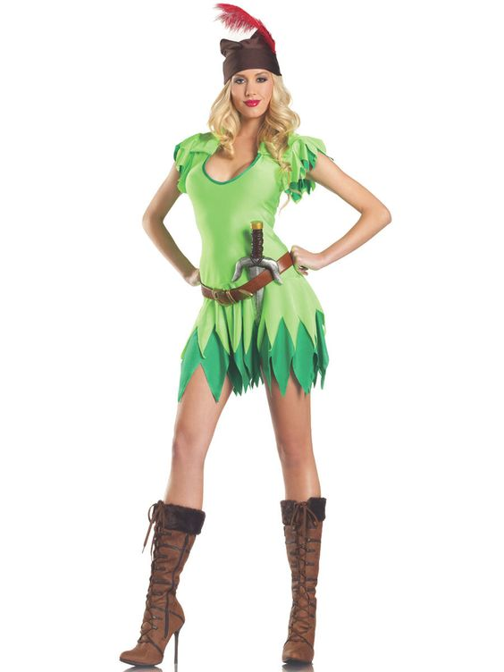Home Adult Costumes Sexy Costumes Sexy Peter Pan Costume  Costumes -2200