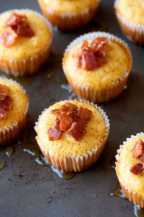 Maple Bacon Corn Bread Muffins! Spongy cornbread muffins that  Mein Blog: Alles rund um die Themen Genuss & Geschmack  Kochen Backen Braten Vorspeisen Hauptgerichte und Desserts