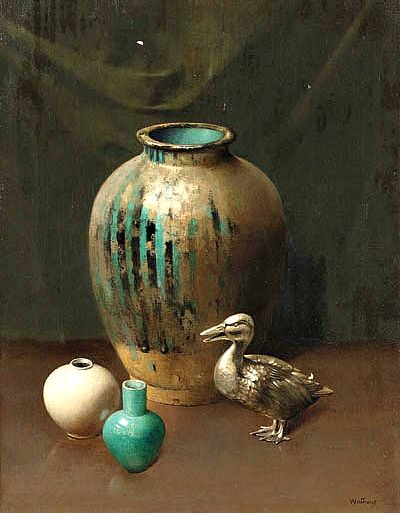 Harry Wilson Watrous  Golden Goose  20th century