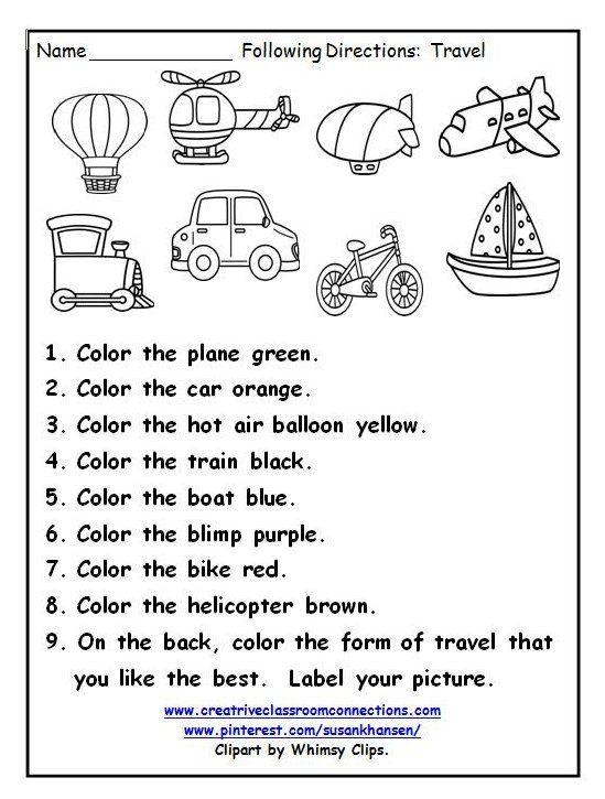 Ways Of Transportation Worksheet Waysoftransportationworksheet This Great Printa Transportation Preschool Transportation Worksheet Kindergarten Worksheets Travel worksheets for kindergarten