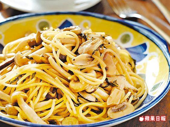 帶著各種菇類的豐富滋味和嚼感,簡單卻很美味。